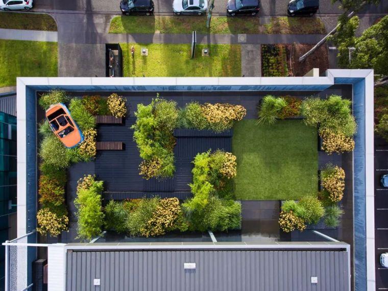 吸引人上去的屋顶花园,设计成这样