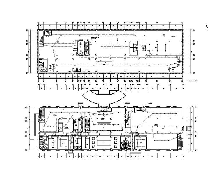 青岛11层酒店电气施工图