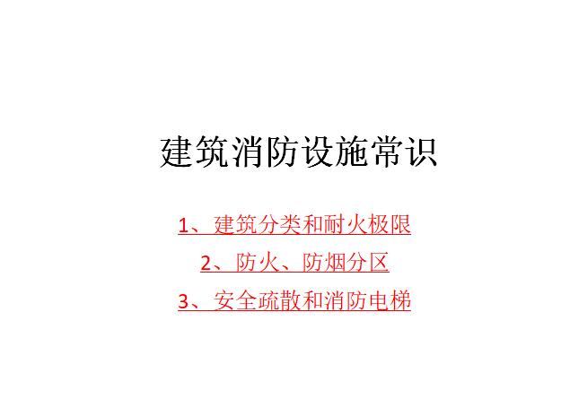 自动消防系统系列讲义-防火防烟分区
