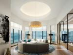 通透明亮客厅3D模型下载