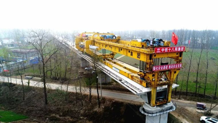 你没见过的胶拼连续梁桥,代表了未来桥梁施工方向
