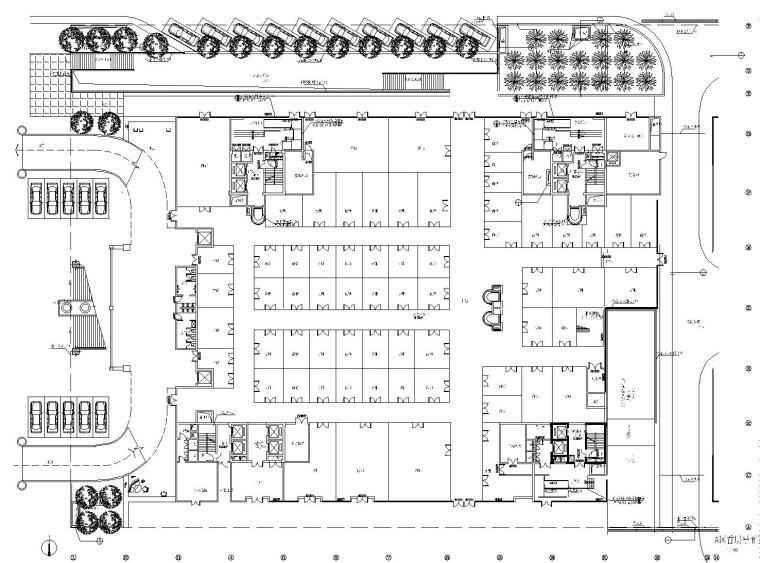 重庆申基索菲特大酒店施工图设计及效果图