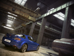 宝石蓝轿车3D模型下载