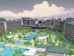 南陵水万豪度假酒店规划建筑设计(图纸齐全)