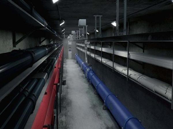大坡度斜屋面保温层保护层浇筑