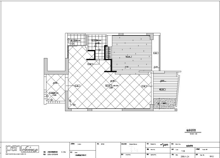 三亚时代海岸A-1绿色东南亚住宅室内设计施工图