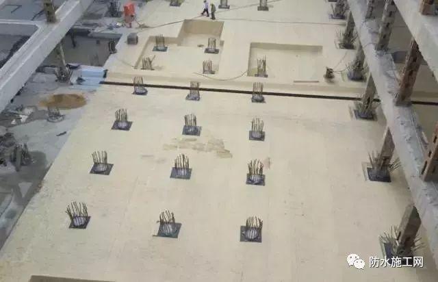 预铺型防水卷材在地下工程的分析_2