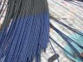 悬索桥锚碇单根可换索预应力钢绞线张拉及注蜡施工工法