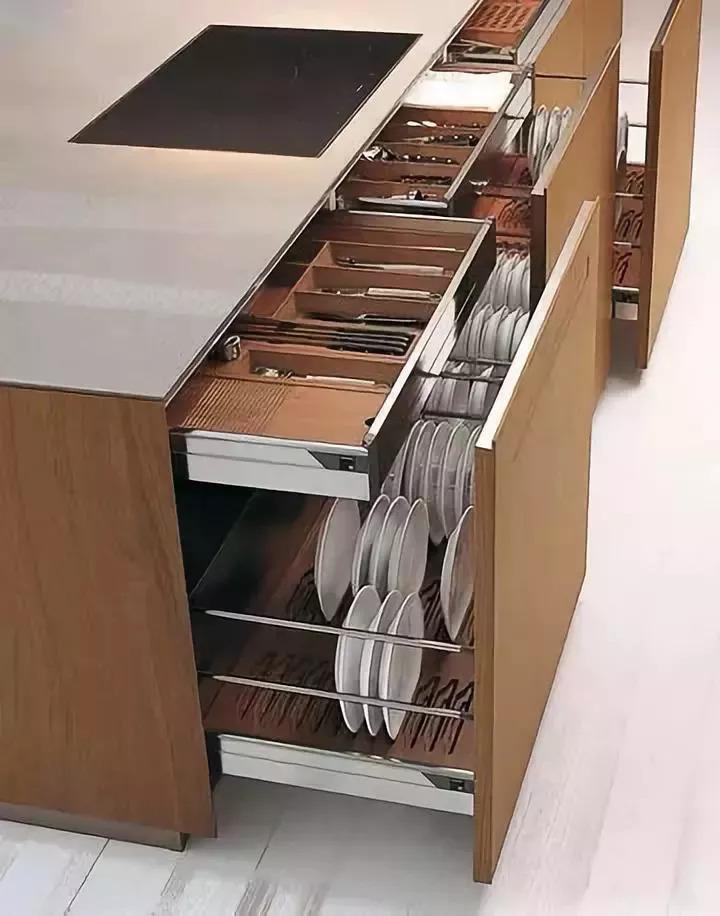 橱柜这样设计,颜值与实用并存!