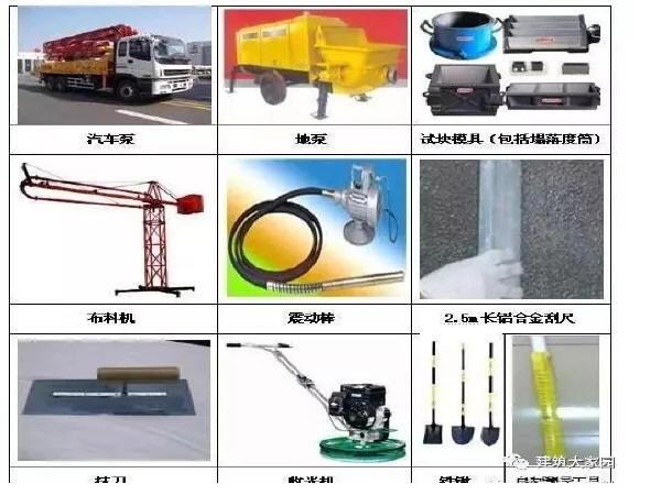 混凝土施工工艺标准化做法
