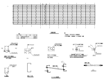 弧形钢管桁架工业厂房建筑结构施工图(CAD、11张)