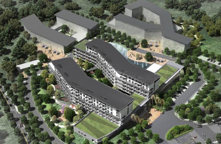 [四川]成都市第二社会福利院改扩建概念设计方案文本