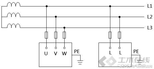 IT系统接地资料下载-五张图让你识别低压配电系统IT、TT和TN的接地!