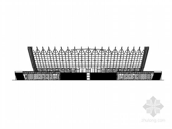 [合集]3套多层大型体育场建筑施工图