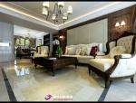 中海国际美式风格,中海国际装修效果图