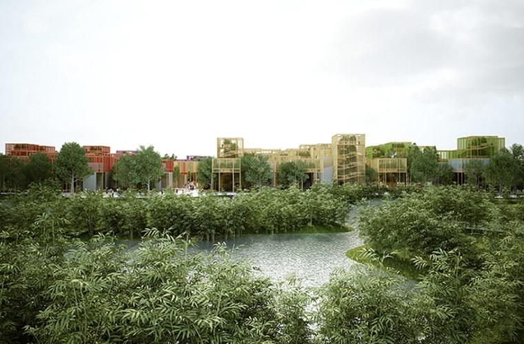 北京2019年园艺博览会绿色展馆