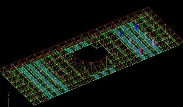 教学楼屋顶博士帽造型工程维修钢结构网架除锈投标方案