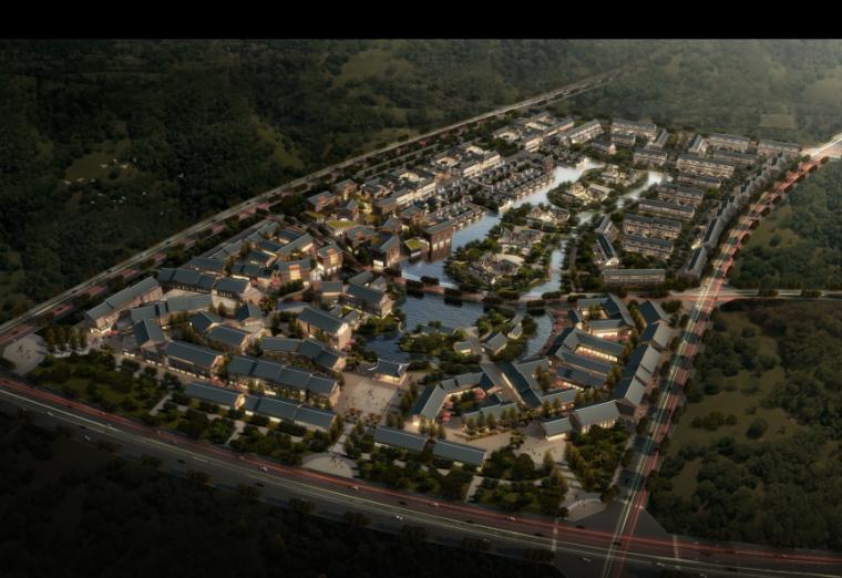 [四川]中式已建商业改造及公寓改造中间成果汇报(汇报及高清图)