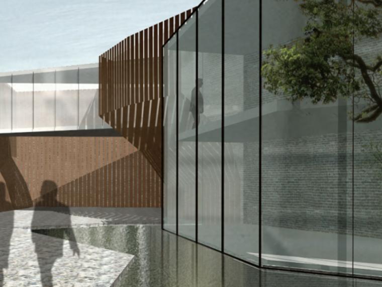 [上海]朱家角特色别墅墙宇中式住宅建筑设计方案文本