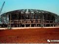 葫芦岛体育馆弓形桁架施工技术