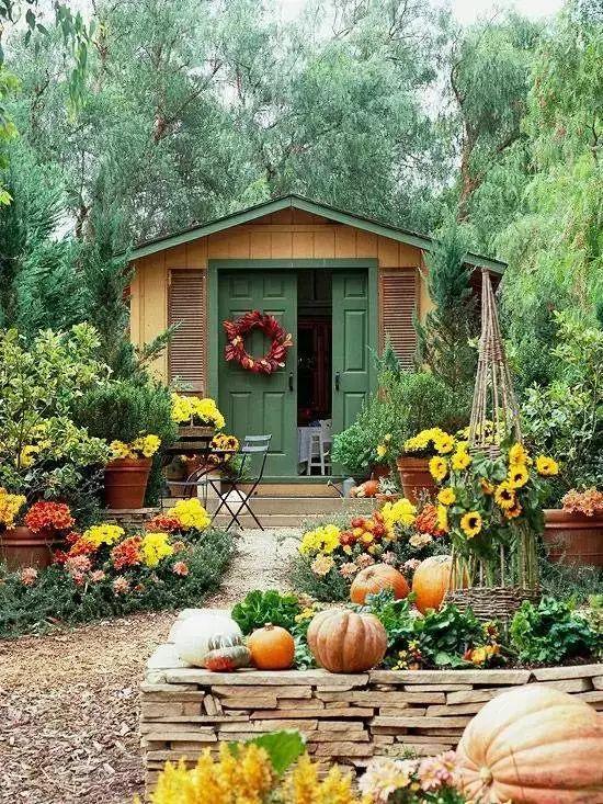 世界那么大,我却只想要个小院花开满园,自在从容……_28
