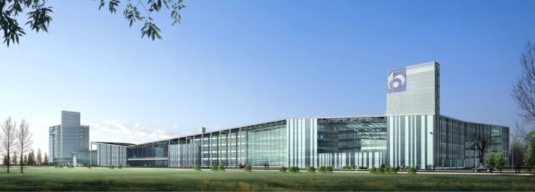 [上海]高层现代风格数据档案中心建筑设计方案文本(含CAD)