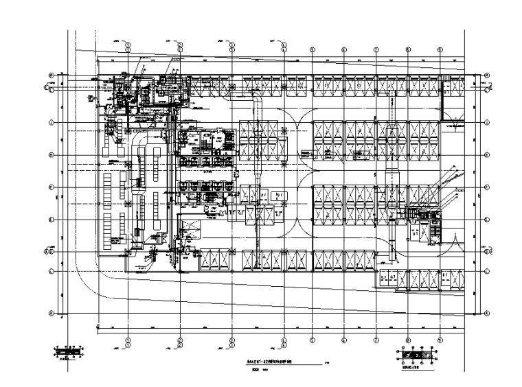 山东万科超高层办公建筑暖通设计施工图