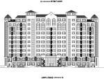 [宁夏]高层框架剪力墙结构老年公寓及配楼建筑施工图