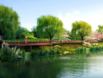 [山西]生态水岛湿地公园景观规划设计方案