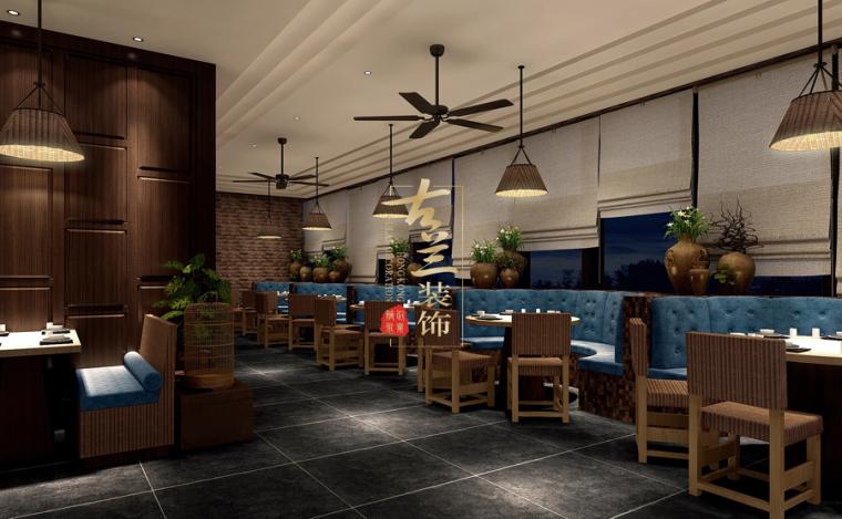 璟府小厨餐厅-成都主题餐厅设计-古兰装饰_12