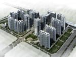 [深圳]高层现代风格一梯两户住宅建筑设计方案文本