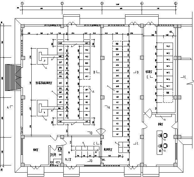纪庄子污水处理厂迁建工程图纸-电气设备平面图
