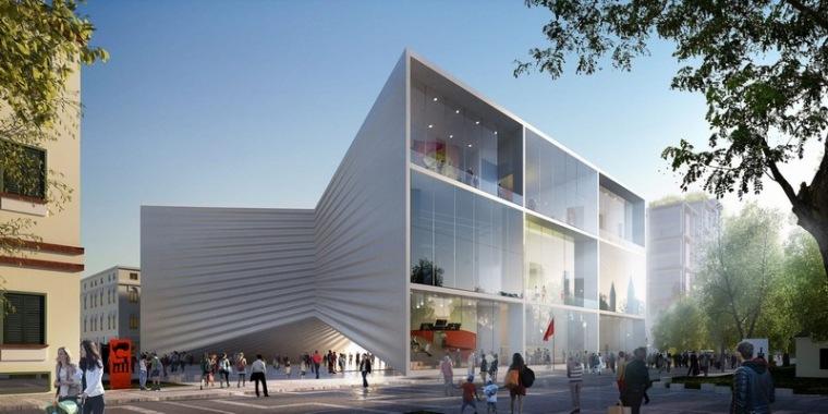 BIG建筑事务所为阿尔巴尼亚设计全新剧院