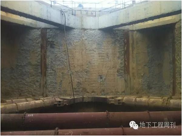 地下连续墙接缝漏水补救措施