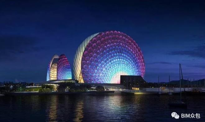 BIM技术在珠海歌剧院项目中的应用