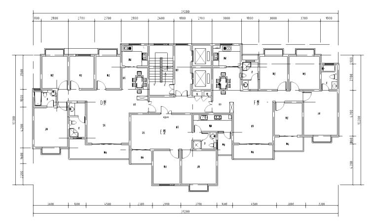 [江苏]某居住区住宅项目施工图及SU模型
