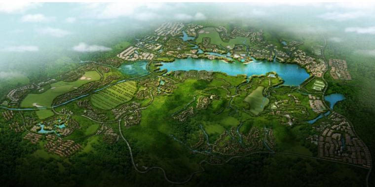 石家庄潘龙湖国际旅游度假区概念规划设计方案文本