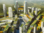 [浙江]梅溪湖R4混用居住区建筑规划设计方案文本