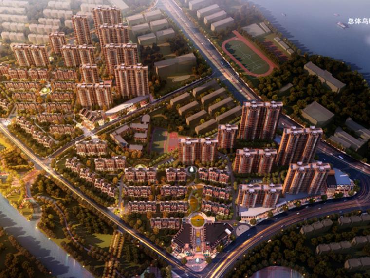 [江西]南昌奥克斯盛世华庭住宅小区总体规划设计方案文本