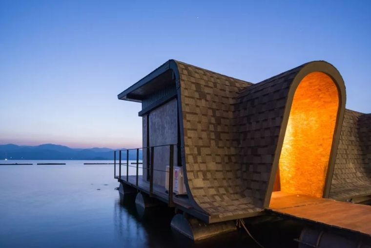 超美的水上筏式酒店设计,美出了新高度_18