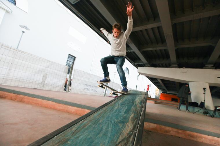 克雷姆斯基大桥的滑板公园-8