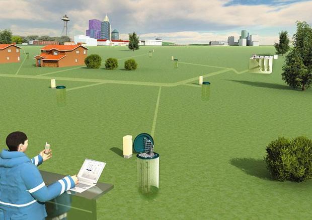 未来的乡村地下排污系统-小型一体化pe泵站