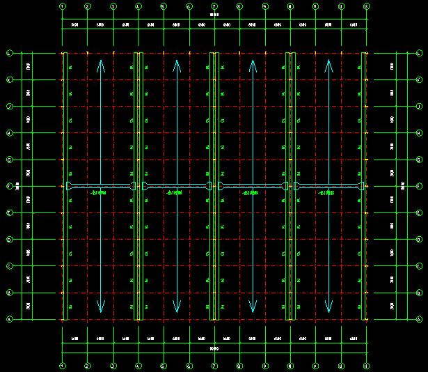 石狮公司70x80单层单山单跨门式刚架厂房施工图_3