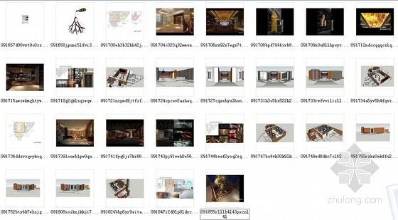 [天津]中外合资企业高档典雅红酒展厅设计方案图资料图纸总缩略图