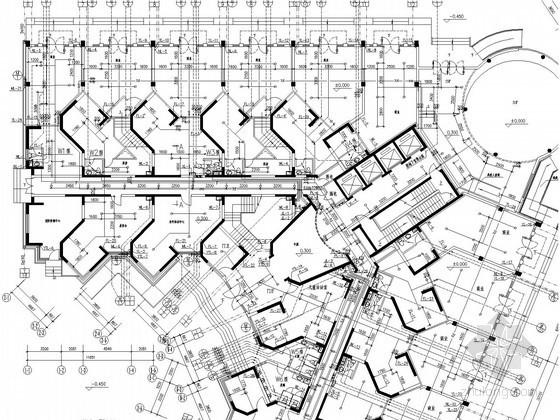 高层公寓式办公楼给排水及消防设计施工图(煤气系统)
