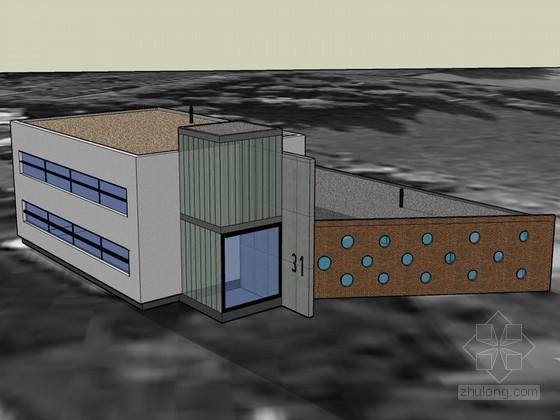 精美建筑SketchUp模型下载