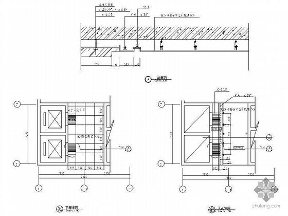 宾馆电梯厅装修设计图(含效果图)