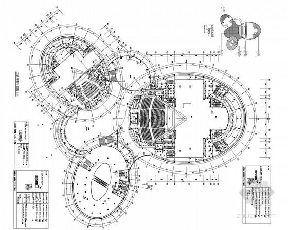 [湖南]黄梅戏大剧院电气全套施工图(甲级院最新设计)