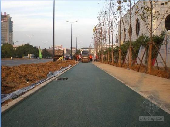 [河南]市政道路沥青混凝土施工方案(铺装 检测)