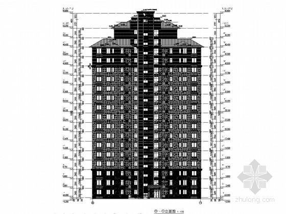 [安徽]18+1层高层住宅楼结构施工图(含建筑图)